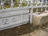 Oprava pomníku Obětem 1. A 2. Svět. Války na ul. Bosonožské